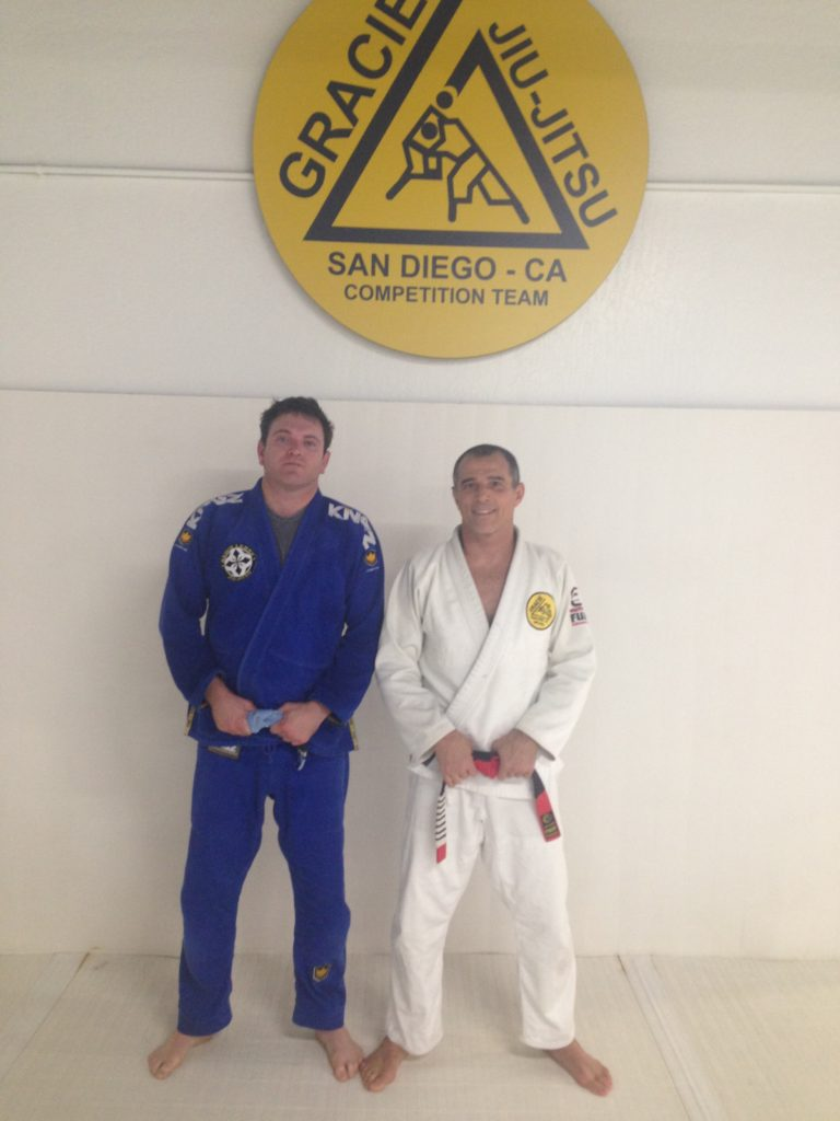 Royler Gracie...yes I was scared.