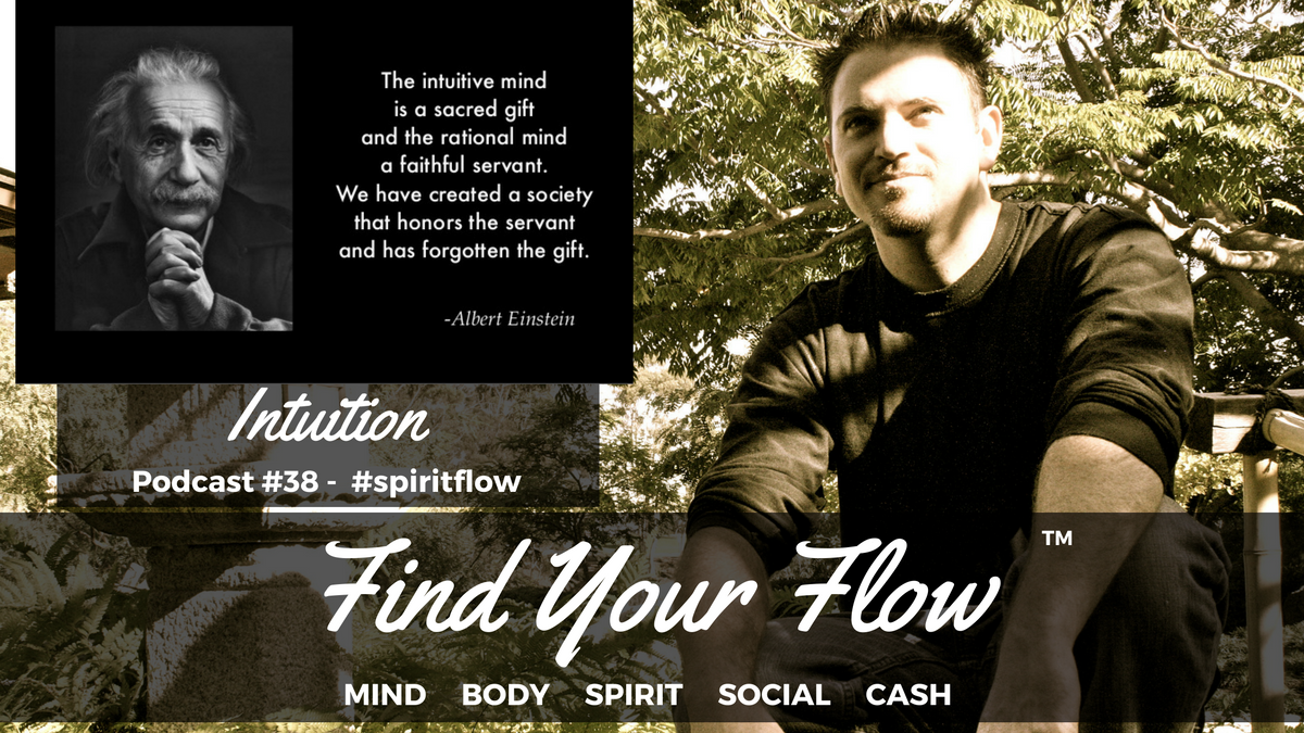Find Your Flow Podcast #38 – Intuition – Winston Widdes #spiritflow
