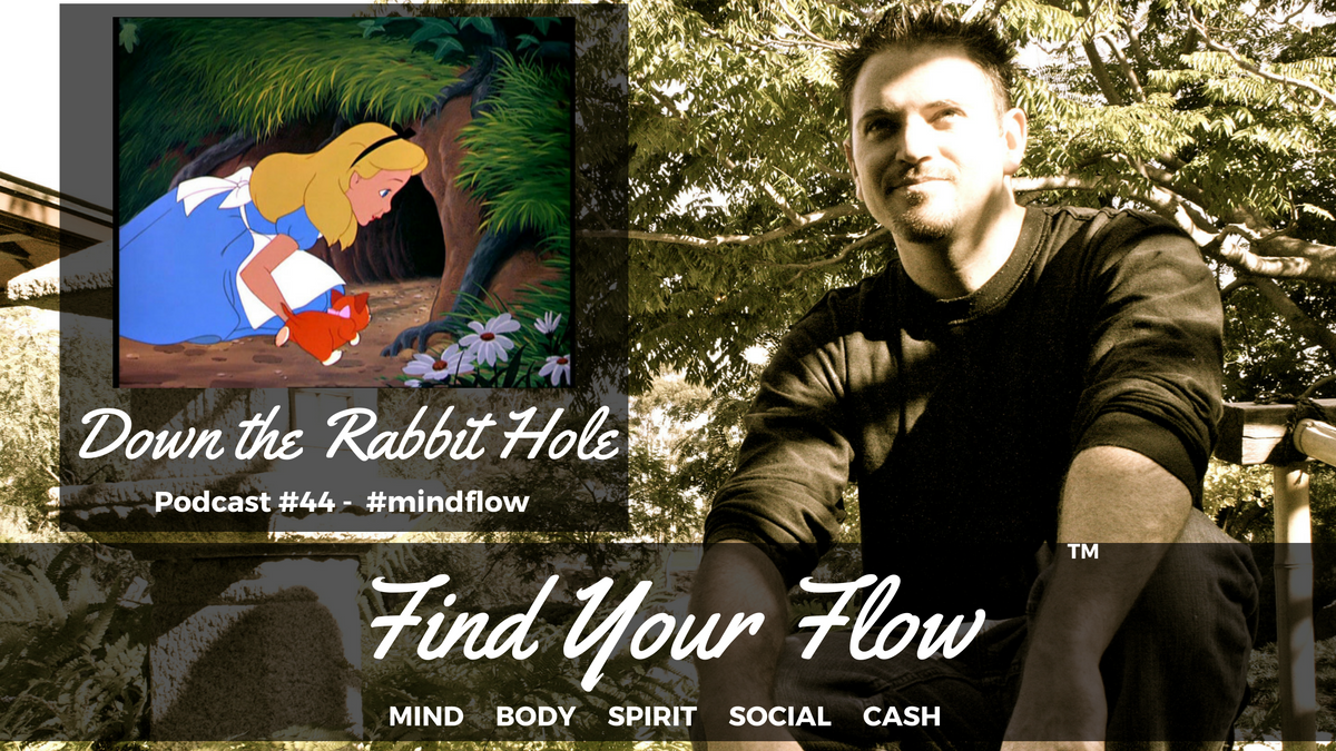 Find Your Flow Podcast #44 – Down the Rabbit Hole – Winston Widdes #mindflow