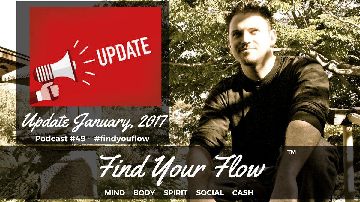 Find Your Flow Podcast #49 – Update – Winston Widdes #findyourflow