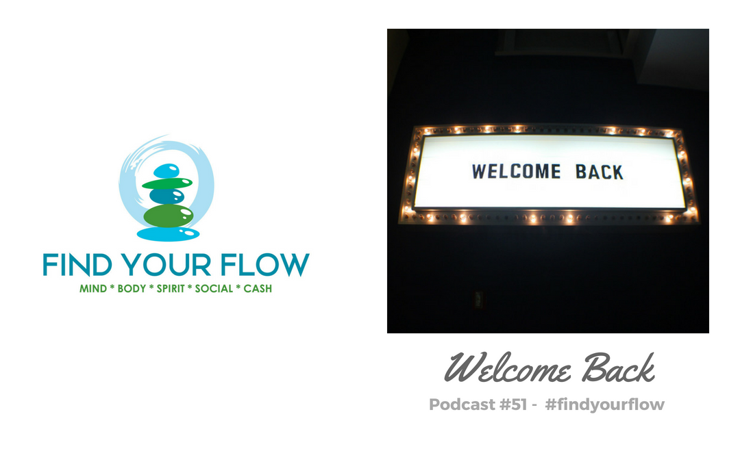 Find Your Flow Podcast Episode #51 – Welcome Back