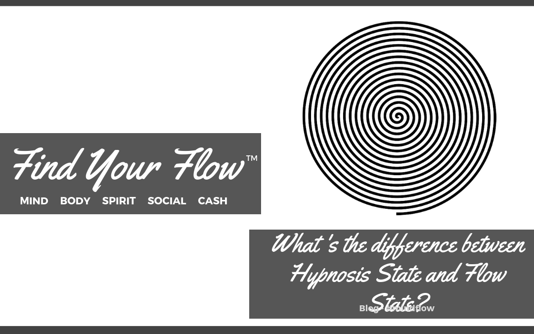 What's The Difference Between Hypnosis State and Flow State?