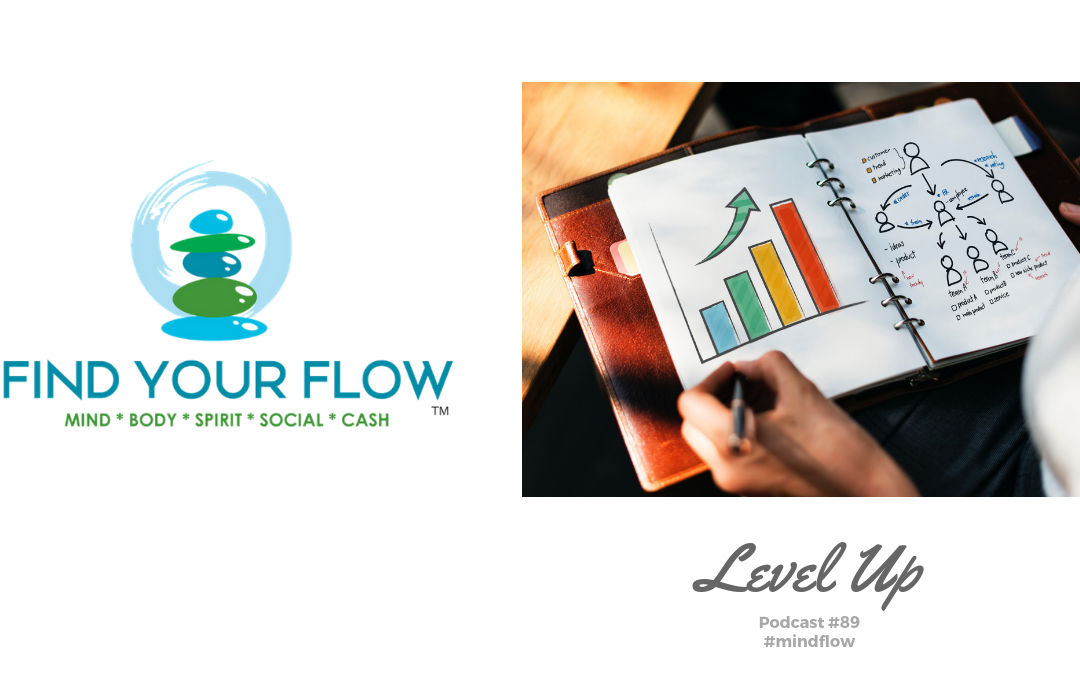 Find Your Flow Podcast Episode #89 – Level Up #mindflow